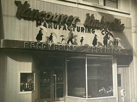 Vancouver Umbrella since 1929 - Vintage Shop